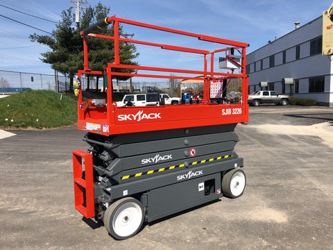 2020 SKYJACK SJIII 3226 SCISSOR LIFT 26' REACH ELECTRIC CUSHION TIRES BRAND NEW STOCK # BF91432692-HLIL - United Lift Used & New Forklift Telehandler Scissor Lift Boomlift