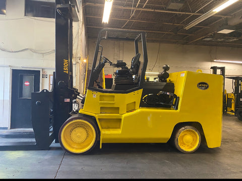 2014 HOIST F600 60,000 LB LP GAS FORKLIFT CUSHION 2 STAGE MAST SIDE SHIFTING FORK POSITIONER 4,451 HOURS STOCK # BF91759129-OHB - United Lift Used & New Forklift Telehandler Scissor Lift Boomlift