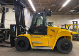 "2016 YALE GDP280 28000 LB DIESEL FORKLIFT PNEUMATIC 176/212"" 2 STAGE MAST SIDE SHIFTER FORK POSITIONER ENCLOSED HEATED CAB 6500 HOURS STOCK # BF9899129-OHB - United Lift Used & New Forklift Telehandler Scissor Lift Boomlift"