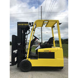 2007 HYSTER J40ZT 4000 LB 48 VOLT ELECTRIC FORKLIFT CUSHION SIDE SHIFTER 80/223 QUAD MAST STOCK # BF990479-169-INB - united-lift-equipment
