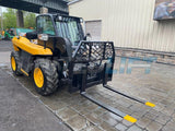 2011 JCB 515-40 3300 LB DIESEL TELESCOPIC FORKLIFT TELEHANDLER ENCLOSED CAB AUXILIARY HYDRAULICS 1885 HOURS STOCK # BF9299759-NLEQ - United Lift Used & New Forklift Telehandler Scissor Lift Boomlift