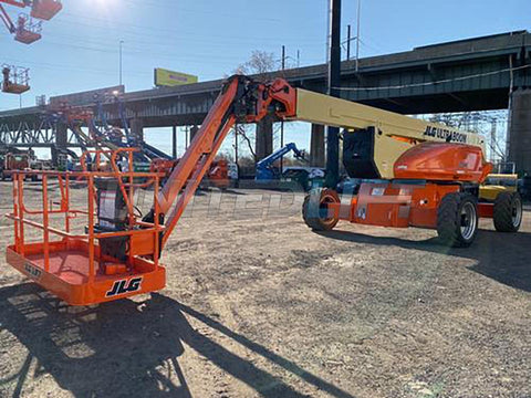 2012 JLG 1250AJP ARTICULATING BOOM LIFT AERIAL LIFT WITH JIB ARM 125' REACH DIESEL 4WD 2245 HOURS STOCK # BF9784359-NLEPA