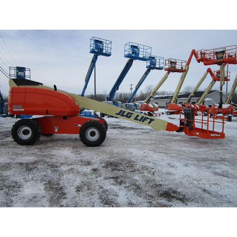 2004 JLG 600S TELESCOPIC BOOM LIFT AERIAL LIFT 60' REACH DIESEL 4WD 2220 HOURS STOCK # BF9296179-359-BNYB