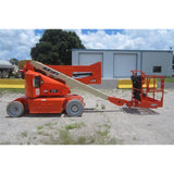 2007 JLG E400AN ARTICULATING BOOM LIFT AERIAL LIFT 40' REACH 48V ELECTRIC STOCK # BF9234269-329-MFL $29,500
