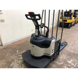 2005 CROWN PE4000-60 6000 LB ELECTRIC WALKIE/RIDER PALLET JACK 2144 HOURS STOCK # BF921999-BEMN - united-lift-equipment