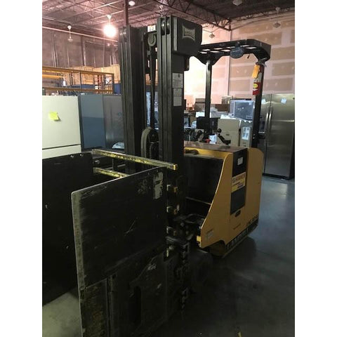 2011 LANDOLL LSC30 3000 LB ELECTRIC STAND UP CONTROL DOCKER FORKLIFT 88/198 3 STAGE MAST STOCK # BF9156-BUF