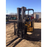"2001 BENDI B30E/42E180D SERIES 3 3000 LB 48 VOLT ELECTRIC FORKLIFT CUSHION 87/198"" 3 STAGE MAST 4987 HOURS STOCK # BF9128769-249-MHIL - united-lift-equipment"