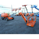 2008 JLG 460SJ TELESCOPIC BOOM LIFT AERIAL LIFT WITH JIB ARM 46' REACH DIESEL 4WD STOCK 3899 HOURS # BF9319289-399-JMB - Buffalo Forklift LLC