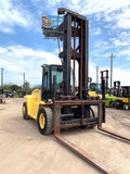 2003 HYSTER H330HD 33000 LB DIESEL FORKLIFT 2 STAGE 190/244 PNEUMATIC SIDE SHIFTER ENCLOSED CAB 7000 HOURS STOCK # BF9643719-AETX