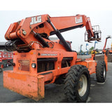2007 LULL 1044C-54 10000 LB DIESEL TELESCOPIC FORKLIFT TELEHANDLER PNEUMATIC ENCLOSED CAB 4WD STOCK # BF9887-BUF