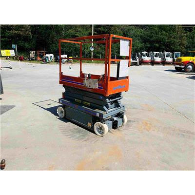 2007 SKYJACK SJ3219 SCISSOR LIFT 19' REACH ELECTRIC SMOOTH CUSHION TIRES STOCK # BF949639-79-GTX