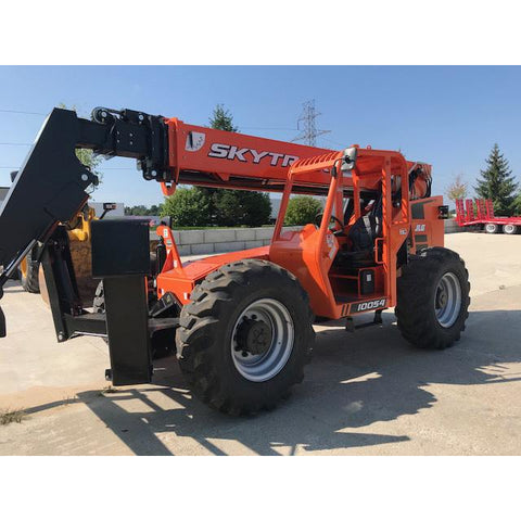 BRAND NEW 2019 SKYTRAK 10054 10000 LB DIESEL TELESCOPIC FORKLIFT TELEHANDLER ONLY 4 HOURS STOCK # BF91287359-139-WCEQ - United Lift Used & New Forklift Telehandler Scissor Lift Boomlift