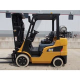 2012 CATERPILLAR 2C5000 5000 LB LP GAS FORKLIFT CUSHION 82/187 3 STAGE MAST SIDE SHIFTER STOCK # BF9139859-RILB - Buffalo Forklift LLC