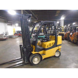 2008 YALE GLC100VX 10000 LB LP GAS FORKLIFT CUSHION 98/202 3 STAGE MAST SIDE SHIFTER STOCK # BF9155439-269-MYRBUF