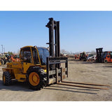 "2005 SELLICK S120 12000 LB DIESEL ROUGH TERRAIN 4WD FORKLIFT 142/192"" 2 STAGE MAST ENCLOSED CAB 5400 HOURS STOCK # BF96014-MYRCERVB ** ONLY $1,155.00 PER MONTH ** - Buffalo Forklift LLC"