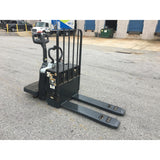 2014 NISSAN RPX60 6000 LB ELECTRIC WALKIE/RIDER PALLET JACK 3550 HOURS STOCK # BF930999-ALTB