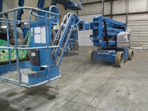2010 GENIE Z40/23NRJ ARTICULATING BOOM LIFT AERIAL LIFT WITH JIB ARM 40' REACH ELECTRIC 772 HOURS STOCK # BF9169549-WIB