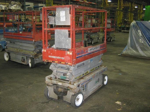2011 SKYJACK SJIII 3219 SCISSOR LIFT 19' REACH ELECTRIC CUSHION TIRES 207 HOURS STOCK # BF945790-WIB
