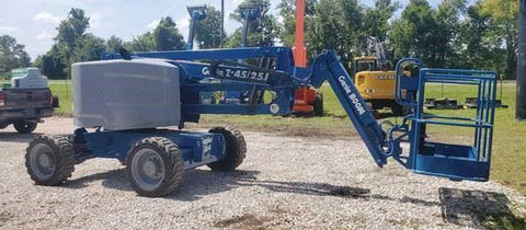 2014 GENIE Z45/25J ARTICULATING BOOM LIFT AERIAL LIFT WITH JIB ARM 45' REACH DIESEL 4WD 2085 HOURS STOCK # BF9295349-NLEQFL - United Lift Used & New Forklift Telehandler Scissor Lift Boomlift