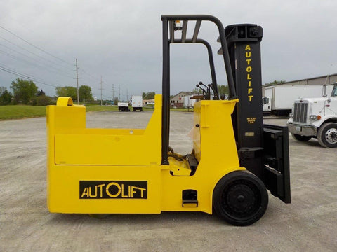 2000 AUTOLIFT ERA300-30 30000 LB ELECTRIC CUSHION 103/109 2 STAGE MAST SIDE SHIFTER STOCK # BF9201439-INB