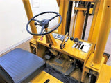 "1987 YALE GC150 15000 LB LP GAS FORKLIFT CUSHION LOW PROFILE 82""/107"" 2 STAGE MAST FULL FREE LIFT STOCK # BF9219389-DFLV"