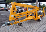2020 BILJAX HAULOTTE 5533A TOWABLE BOOM LIFT WITH JIB 55' REACH ELECTRIC 2WD OUTRIGGERS BRAND NEW STOCK # BF9421199-NLEQ