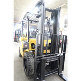 2012 CATERPILLAR 2P6000 6000 LB LP GAS FORKLIFT PNEUMATIC 84/130 2 STAGE MAST SIDE SHIFTER 4627 HOURS STOCK #BF18721-DPA ** ONLY $491.00 PER MONTH **