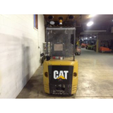 2013 CATERPILLAR EC30N 6000 LB 36 VOLT ELECTRIC FORKLIFT CUSHION TIRE 84/240 QUAD MAST SIDE SHIFTER 10135 HOURS STOCK # BF973319-129-DFOH **OWN FOR ONLY $248 PER MONTH**