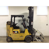 2013 CATERPILLAR GC40K 8000 LB LP GAS FORKLIFT CUSHION 114.5/258 3 STAGE MAST PAPER ROLL CLAMP 8709 HOURS STOCK # BF9198779-299-DFOH **OWN FOR ONLY $576 PER MONTH **