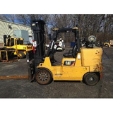 2009 CATERPILLAR GC70K 15500 LB LP GAS FORKLIFT CUSHION 99/188 3 STAGE MAST 2156 HOURS STOCK # BF9266759-399-OWOHB