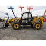 2012 CAT TH514 11000 LB DIESEL TELESCOPIC FORKLIFT TELEHANDLER PNEUMATIC 4WD 4262 HOURS STOCK # BF9657719-759-BNYB