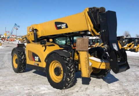 2014 CAT TL1255C 12000 LB DIESEL TELESCOPIC FORKLIFT TELEHANDLER PNEUMATIC 4WD ENCLOSED HEATED CAB 3854 HOURS STOCK # BF9835129-115-ZMN - united-lift-equipment