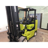 1995 CLARK GCX50 11000 LB LP GAS FORKLIFT CUSHION 94/189 3 STAGE MAST 7196 HOURS STOCK # BF965689-BUF - united-lift-equipment