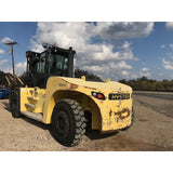 "2011 HYSTER H550HD 55000 LB CAPACITY DIESEL FORKLIFT PNEUMATIC 124"" 2 STAGE MAST SIDE SHIFTER FORK POSITIONER ONLY 1750 HOURS STOCK # BF92597399-2959-TX **OWN FOR ONLY $5708 PER MONTH**"
