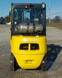 "2011 DOOSAN G25P-5 5000 LB LP GAS FORKLIFT CUSHION 85/186"" 3 STAGE MAST STOCK # BF9135439-INB"