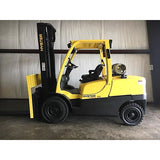 2011 HYSTER H100FT 10000 LB LP GAS FORKLIFT PNEUMATIC 111/157 2 STAGE MAST FORK POSITIONER 2500 HOURS STOCK # BF9242119-329-AETX
