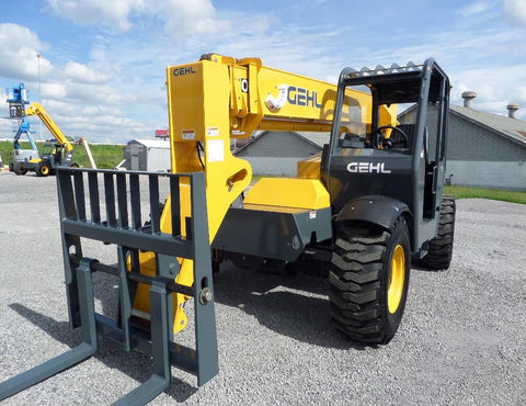 2019 GEHL RS6-34 6000 LB DIESEL TELESCOPIC FORKLIFT TELEHANDLER PNEUMATIC 4WD BRAND NEW STOCK # BF937389-VAOH - united-lift-equipment