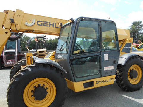 2014 GEHL DL12H40 12000 LB DIESEL TELESCOPIC FORKLIFT TELEHANDLER PNEUMATIC ENCLOSED CAB 2934 HOURS STOCK # BF9491169-DIENC - United Lift Used & New Forklift Telehandler Scissor Lift Boomlift
