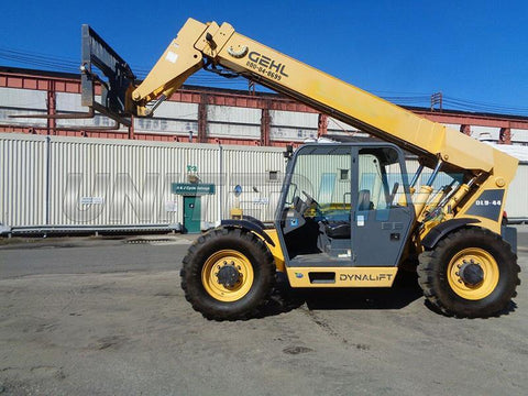 2015 GEHL DL9-44 9000 LB DIESEL TELESCOPIC FORKLIFT TELEHANDLER PNEUMATIC 4WD 44' REACH AUXILIARY HYDRAULICS 1247 HOURS STOCK # BF9389729-ESPA