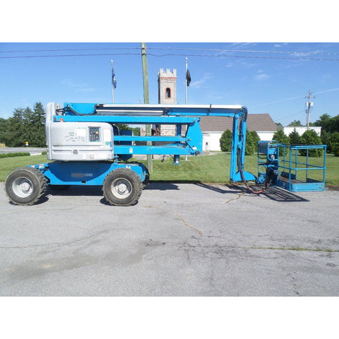 2006 GENIE Z60/34 ARTICULATING BOOM LIFT AERIAL LIFT 60' REACH DIESEL 884 HOURS STOCK # BF9317609-PAB
