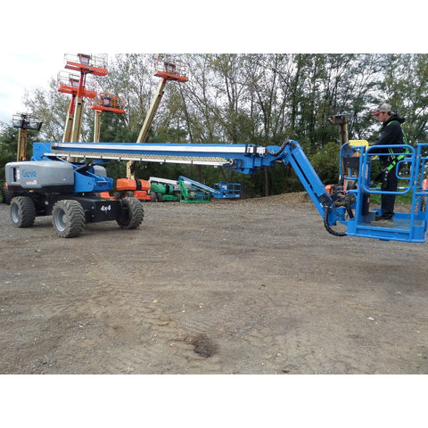 2017 GENIE S85 TELESCOPIC BOOM LIFT AERIAL LIFT 85' REACH DIESEL 4WD BRAND NEW STOCK # BF1355879-145-VAOH - United Lift Used & New Forklift Telehandler Scissor Lift Boomlift