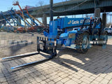2015 GENIE GTH1056 10000 LB DIESEL TELESCOPIC FORKLIFT TELEHANDLER PNEUMATIC 4WD OUTRIGGERS OPEN CAB 2260 HOURS STOCK # BF9697569-NLEQ - United Lift Used & New Forklift Telehandler Scissor Lift Boomlift