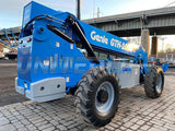2013 GENIE GTH1056 10000 LB DIESEL TELESCOPIC FORKLIFT TELEHANDLER PNEUMATIC 4WD ENCLOSED CAB 3659 HOURS STOCK # BF9621189-NLE