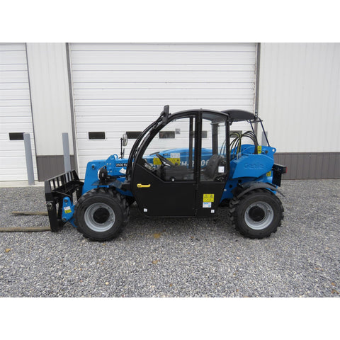 2018 GENIE GTH2506 5500 LB DIESEL TELESCOPIC FORKLIFT TELEHANDLER PNEUMATIC 4WD ENCLOSED CAB 175 HOURS STOCK # BF51763-MTPA - United Lift Used & New Forklift Telehandler Scissor Lift Boomlift