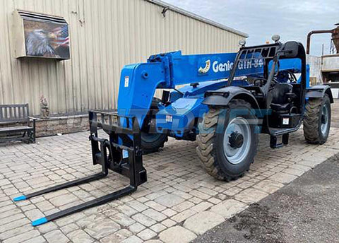 2015 GENIE GTH-844 8000 LBS TELESCOPIC BOOM LIFT 4WD PNEUMATIC 1685 HOURS STOCK # BF9621149-NLEQ