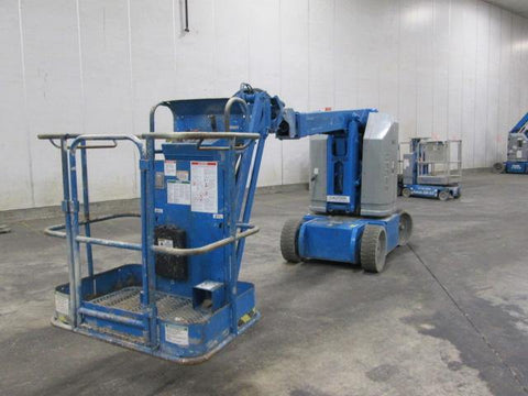 2010 GENIE Z30/20NRJ ARTICULATING BOOM LIFT AERIAL LIFT 30' REACH ELECTRIC 818 HOURS STOCK # BF9158529-WIBTN