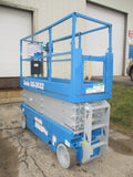 2013 GENIE GS2632 SCISSOR LIFT 26' REACH ELECTRIC SMOOTH CUSHION TIRES 267 HOURS STOCK # BF963549-WIB - United Lift Used & New Forklift Telehandler Scissor Lift Boomlift