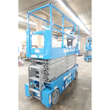 2008 GENIE GS-3232 SCISSOR LIFT 32' REACH ELECTRIC SMOOTH CUSHION TIRES 452 HOURS STOCK # BF02766-DPA