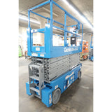 2008 GENIE GS3232 SCISSOR LIFT 32' REACH ELECTRIC SMOOTH CUSHION TIRES 318 HOURS STOCK # BF02759-DPA