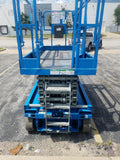 2007 GENIE GS3246 SCISSOR LIFT 32' REACH ELECTRIC SMOOTH CUSHION TIRES 390 HOURS STOCK # BF959619-WIBIL - United Lift Used & New Forklift Telehandler Scissor Lift Boomlift
